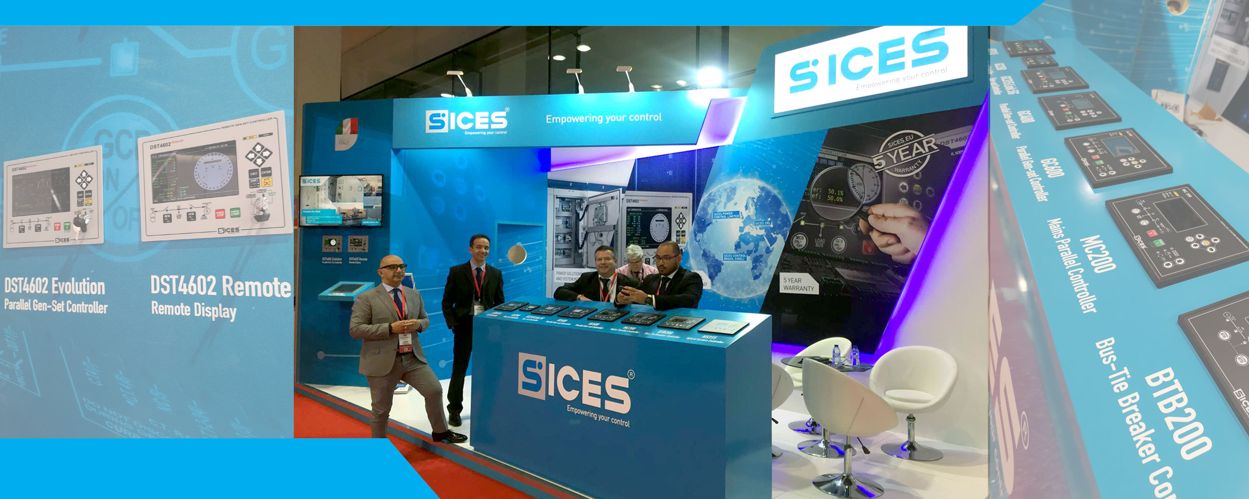 Once again SICES at Middle East Electricity